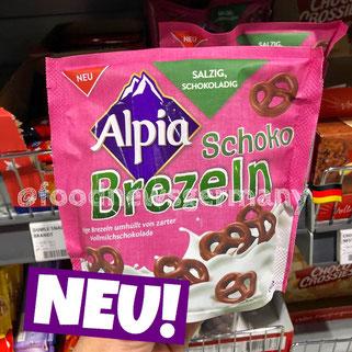 Alpha Schoko Brezeln