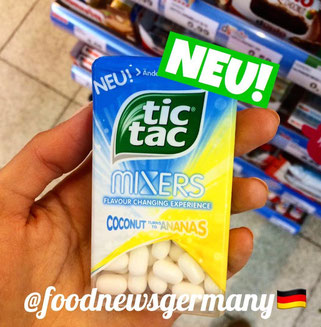 TIC TAC MIXERS COCONUT AND ANANAS