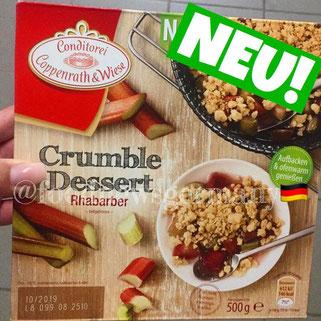 Coppenrath & Wiese Crumble Dessert Rhabarber