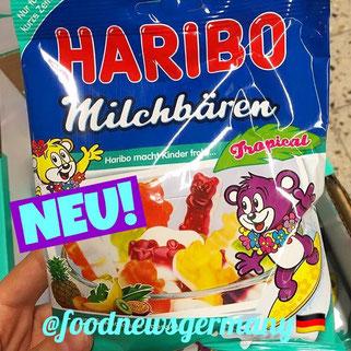 Haribo Milchbären Tropical