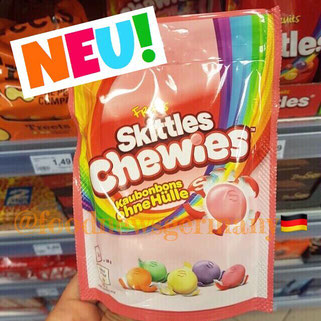 Skittles Chewies ohne Hülle