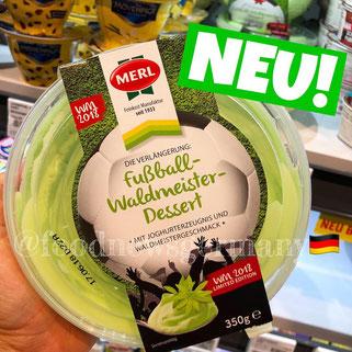 Merl Fußball Waldmeister Dessert