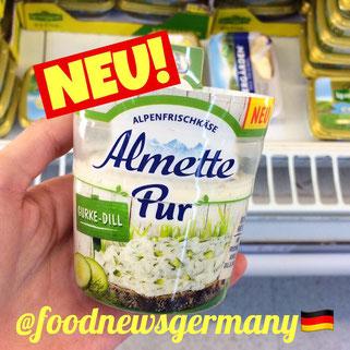 Almette Pur Gurke-Dill