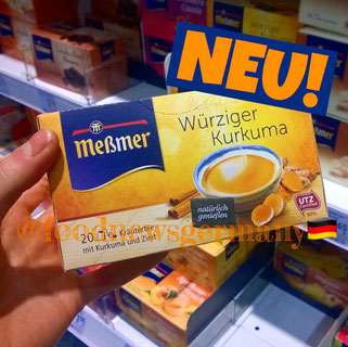 Mesmer Tee Würziger Kurkuma