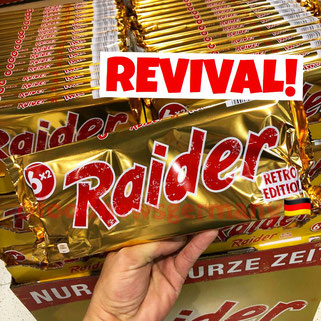 Raider Twix Retro Edition