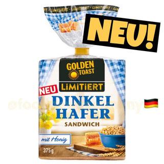 Golden Toast Dinkel Hafer Sandwich