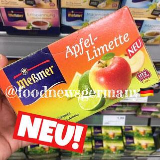 Meßmer Tee Apfel-Limette