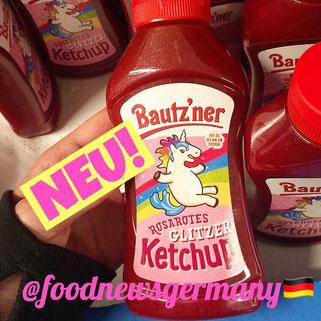 Bautz'ner Einhorn Glitzer Ketchup