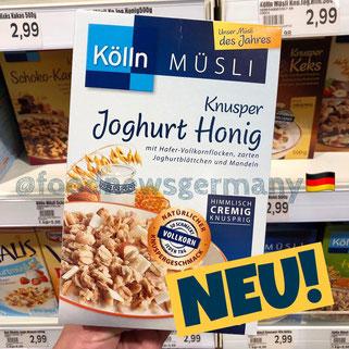 Kölln Müsli Knuspre Joghurt Honig