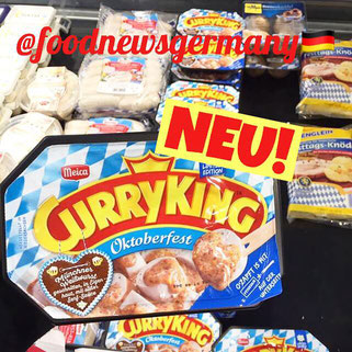 Mecca Curry King Oktoberfest Weißwurst