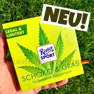 Ritter Sport Schoko & Gras