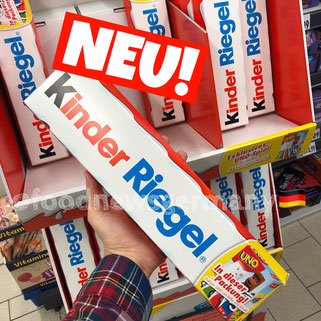 Kinder Riegel XXL Edition plus UNO Spiel