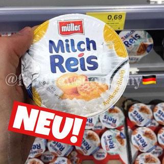 Müller Milchreis Aprikose Honig