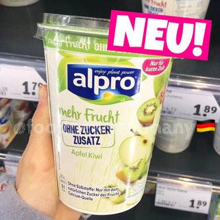Alpro ohne Zuckerzusatz Apfel Kiwi