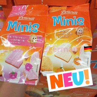 Brandt Minis Joghurt mit Pfirsich-Geschmack