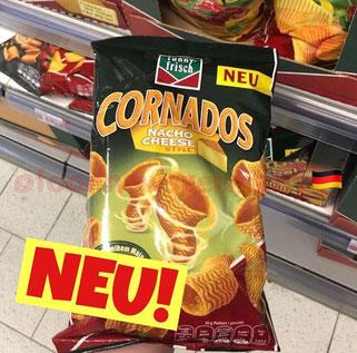 Funny Frisch Cornados Nacho Cheese Style
