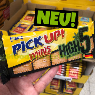 Leibniz Pick Up minis High 5 Choco & Hanf
