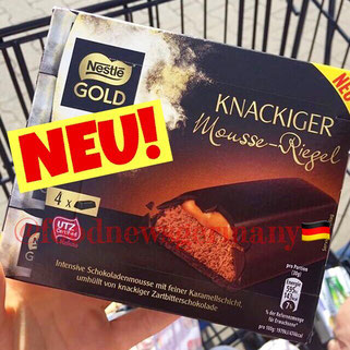 Nestle Gold Knackiger Mousse Riegel