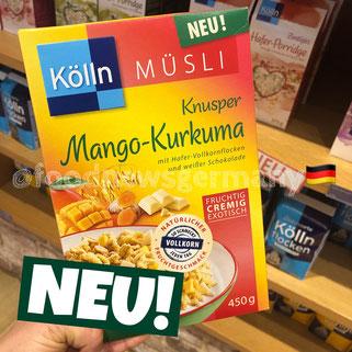 Kölln Müsli Knuspre Mango-Kurkuma