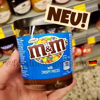 m & m's Schokoladenaufstrich