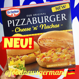 Dr.Oetker Pizzaburger Cheese 'n' Nachos