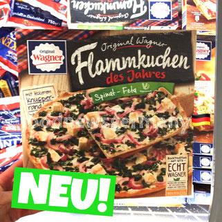 Original Wagner Flammkuchen des Jahres Spinat-Beta