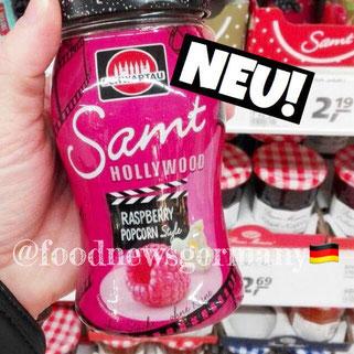 Schwartau Samt Hollywood Raspberry Popcorn Style