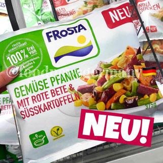 Frosta Gemüse Pfanne mit Rote Bete & Süsskartoffeln