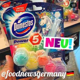 Domestos Einhorn Power 5 WC-Stein