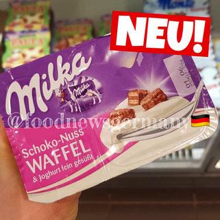 Milka Joghurt Schoko-Nuss Waffeln
