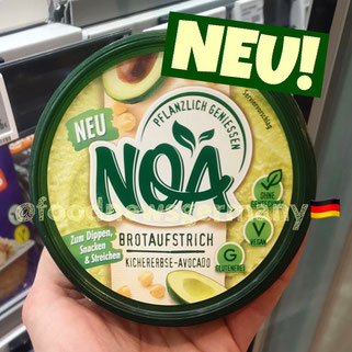 Noa Brotaufstrich Kichererbse-Avocado