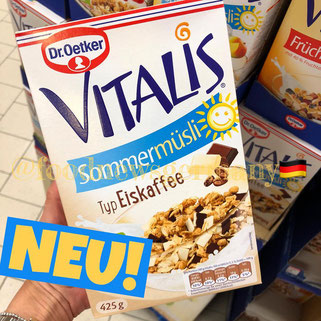 Dr. Oetker Vitalis Sommermüsli Typ Eiskaffee