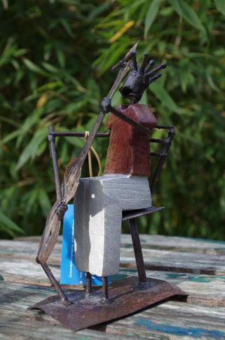 cellospieler Figur Fair trade,Fair gehandelte Kunst