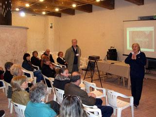 Conferenza sui suiseki tenuta da Chiara Padrini