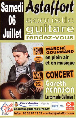 Concert Astaffort, Acoustic Guitare 2019, hotel restaurant Astaffort 47
