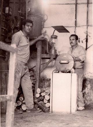 Jose Manuel Quevedo Hernandez and Bernardino Nazco, 1970