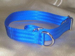 Zugstopp, Halsband, 2,5cm, Gurtband königsblau