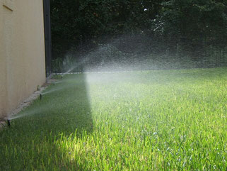 yard sprinklers repair