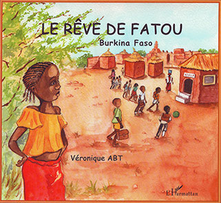 couverture livre jeunesse le rêve de Fatou