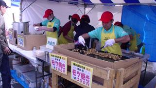 横浜市場祭り イベントのようす
