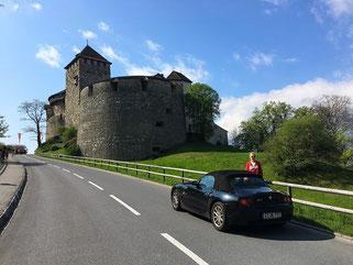 Schloss Vaduz Liechtenstein Alpen