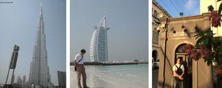 Nicht die kostspieligsten Möglichkeiten, Eure Nächte zu organisieren (hier zweimal in Dubai und einmal in Bangkok). Ab hier geht es jedoch ganz sicher aufwärts in der Hitparade der Budget-unfreundlichsten Gasthöfe...