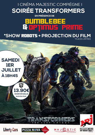 compiegne cinema transformers film animation