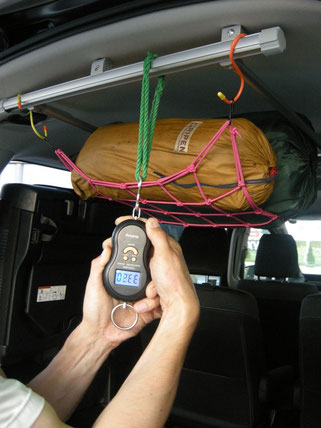 スズキ スペーシア 軽自動車 車内キャリア 室内キャリア キャリア 収納 トランポ トランポプロ ルーフフレーム