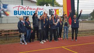 Malsch 1 wird Deutscher Meister der Bundesliga 2018