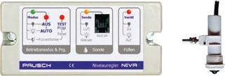 elektronischer Niveauregler mit optischer Füllstandssonde Pausch Niva