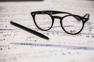 scrivere musica, testi terapeutici
