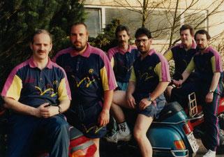 v.l.: Jürgen Palm, Hans Schreier, Stefan Schwarze, Michael Kuhn, Michael Paulus,  Horst Schmitt