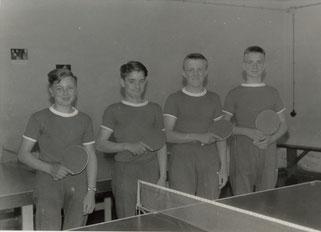 v.l.: Hubert Schiffmann, Berthold Meiers, Alois Reinert und Karl-Peter Friedrich