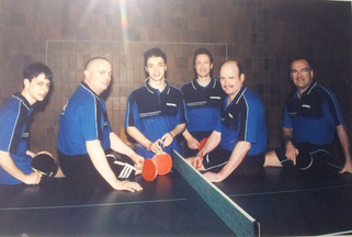 v.l.: Andreas Bieg, Armin Görg, Matthias Bieg, Richard Meiers, Joachim Helfen und Norbert Theobald